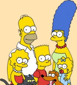 Influencia familia Simpson