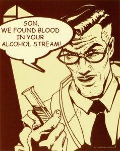 sangre alcohol