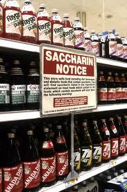 Saccharin notice