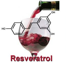 Resveratrol y vino