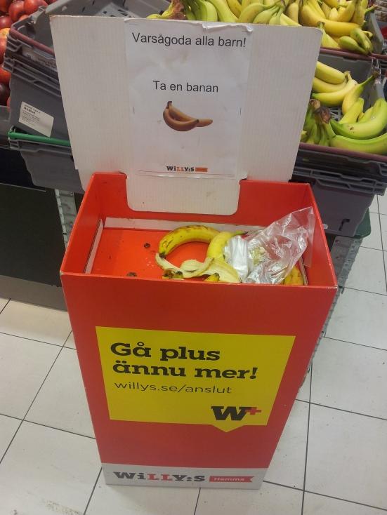 Fruta gratis niños