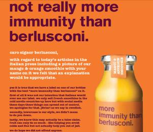 más inmunidad que berlusconi