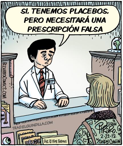 Prescripción falsa