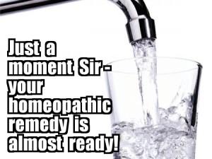 Preparación homeopática