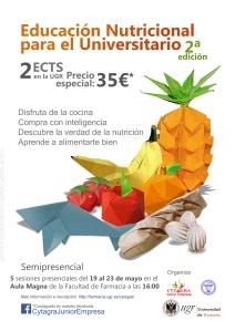 Cartel educación nutricional
