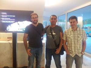 Aitor, josé Manuel y Luis