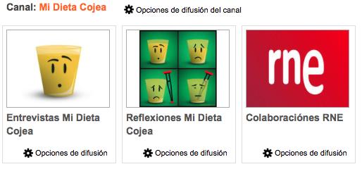 Ivoox de Mi dieta Cojea
