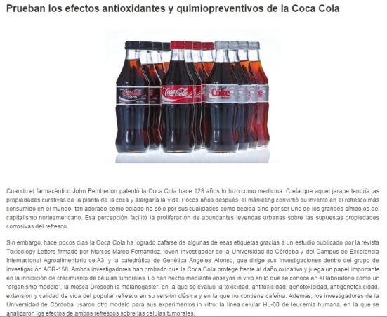 Universidad de Córdoba y Coca-Cola
