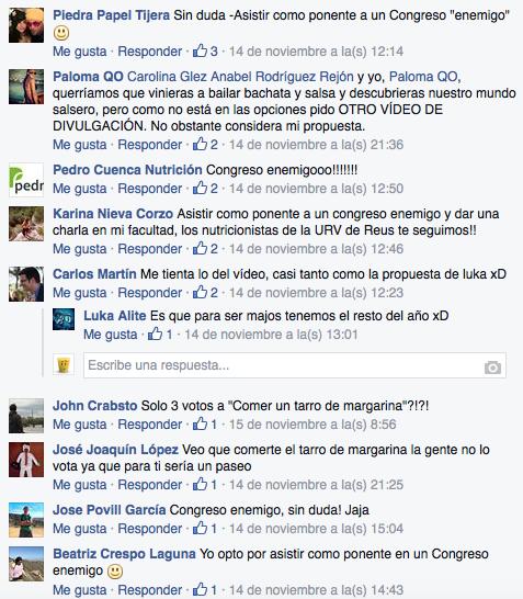 Propuestas Facebook premios bitácoras