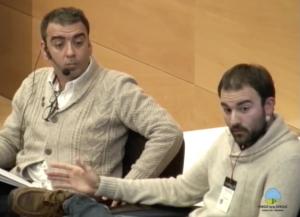 Aitor Sánchez García y José Manuel López