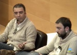 José Manuel López y Aitor Sánchez