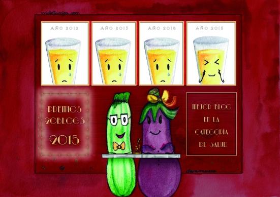 Mi Dieta cojea nominado mejor blog salud