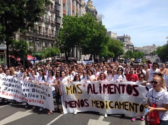 Sanidad Desnutrida llegando a Sol (Imagen: Aitor Sánchez)