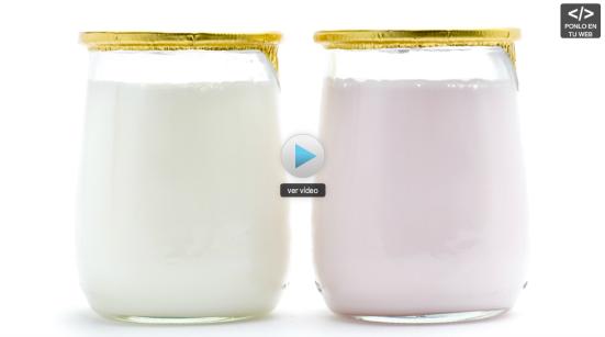 El líquido del yogur es malo