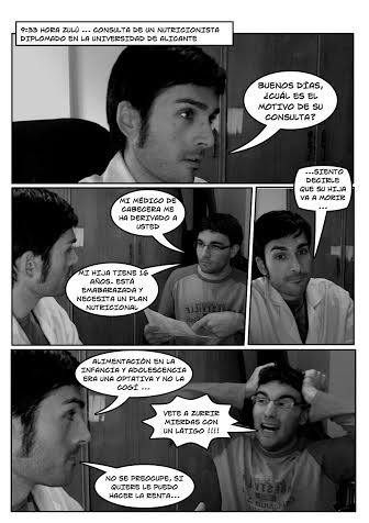 Comic Nutrición Aitor y Dani