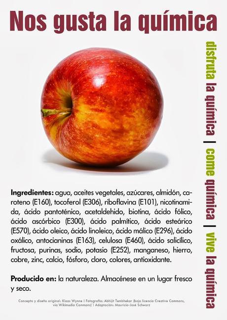 Aditivos manzana