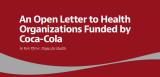 Carta abierta a las organizaciones financiadas porCoca-Cola