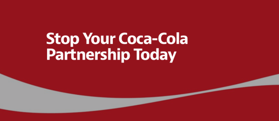 Stop your Coca-Cola Partnership