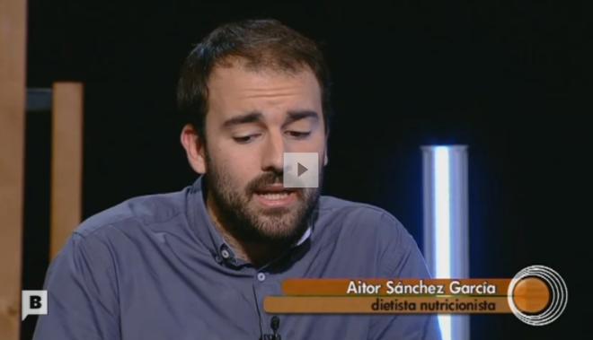 Aitor Sánchez, dietista-nutricionista