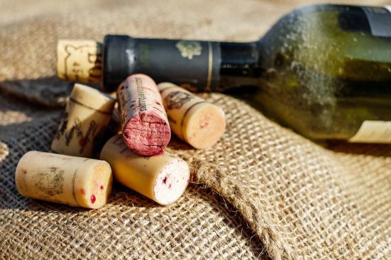 Corcho de vino